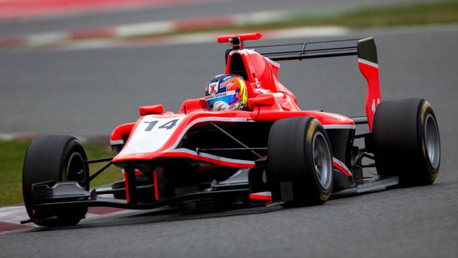 Tio Ellinas resta alla Marussia Manor nel 2013