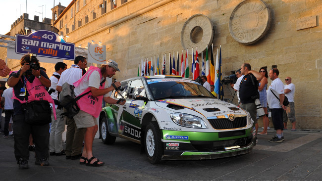 Il Rally di San Marino escluso dell'Europeo