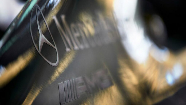 La Mercedes cambia livrea a Barcellona