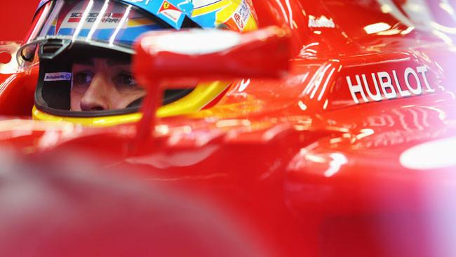 Barcellona, Libere 1: le Ferrari dominano sul bagnato