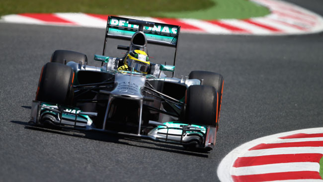 Prima fila tutta Mercedes: Rosberg in pole position!