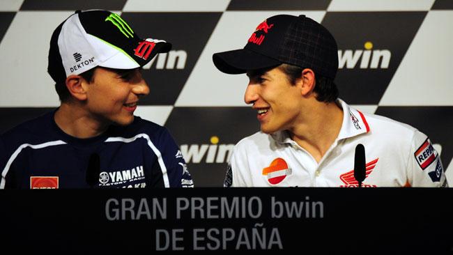 Pace fatta in aereo tra Jorge Lorenzo e Marc Marquez?