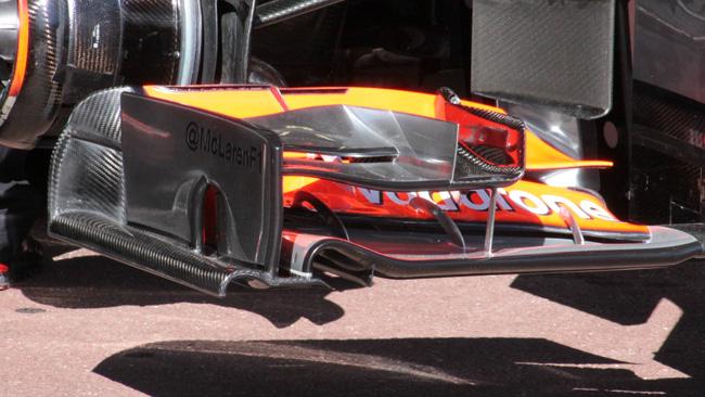 E' stata promossa l'ala flessibile della McLaren