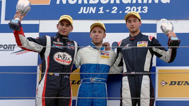 Ed Jones domina gara 1 al Nurburgring
