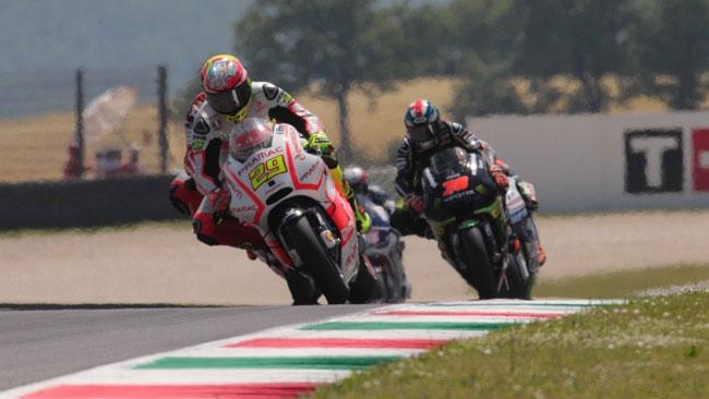 Iannone è rimasto senza grip al posteriore in gara