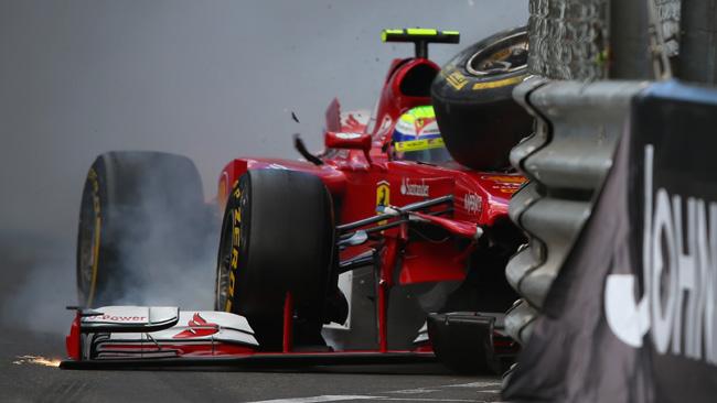 Massa sostituisce il telaio della Ferrari F138