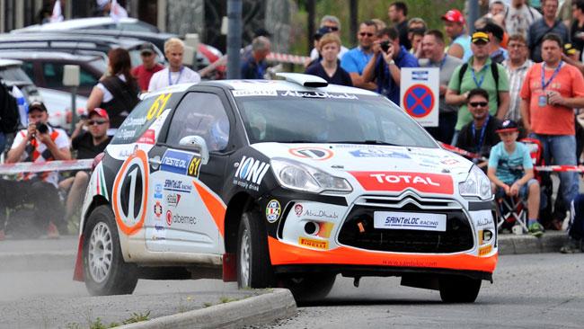 Simone Campedelli pronto per il Rally di Germania