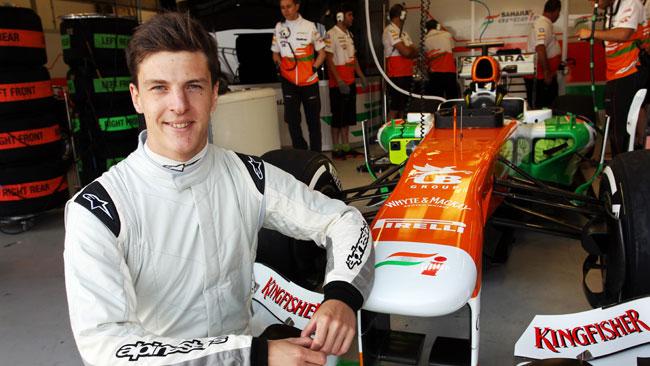 James Calado nuova riserva della Force India