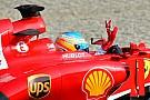 Fernando Alonso contento della sua qualifica