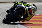 Giornata molto travagliata per Valentino Rossi