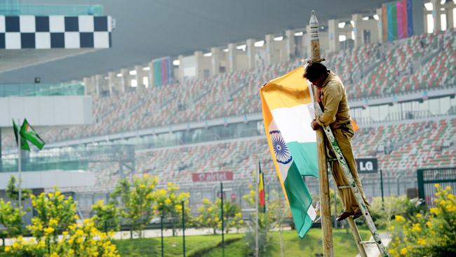 Clamoroso: il Gp dell'India potrebbe essere a rischio!