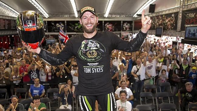 Dopo la festa, Sykes torna in pista nei test di Jerez