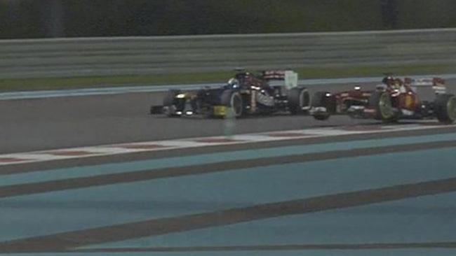 Nessuna penalità per il sorpasso di Alonso