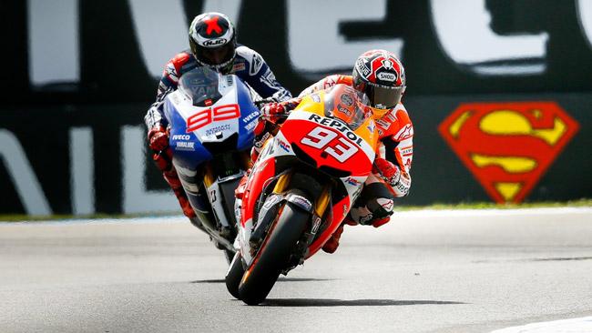Marquez vs Lorenzo: tutte le combinazioni iridate