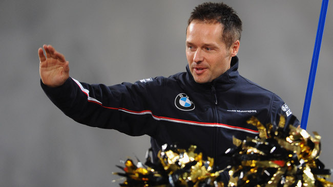 Andy Priaulx pronto a salutare il DTM