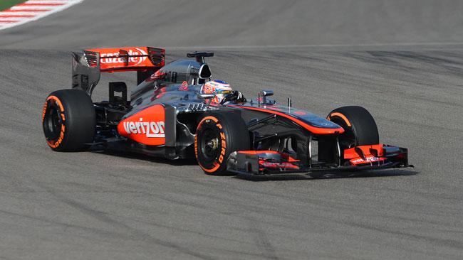 Jenson Button penalizzato di tre posizioni in griglia