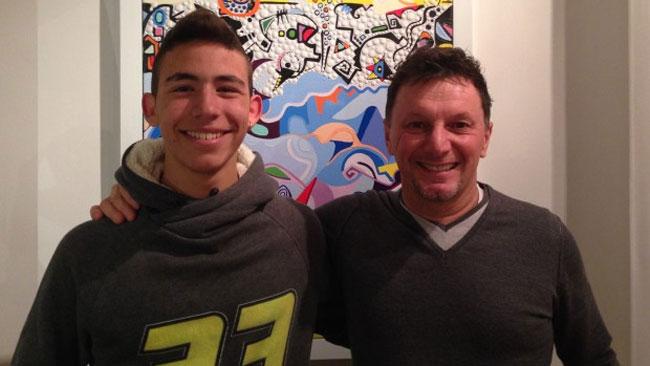 Enea Bastianini nuovo pilota del Team Gresini