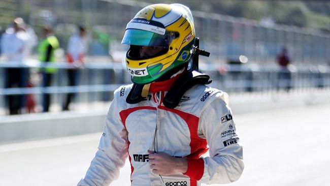 Luiz Razia ai test della Indy Lights a Sebring
