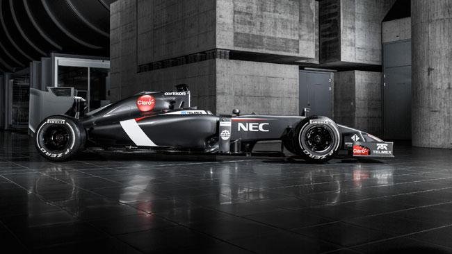 La Sauber C33 è come un Tornado!