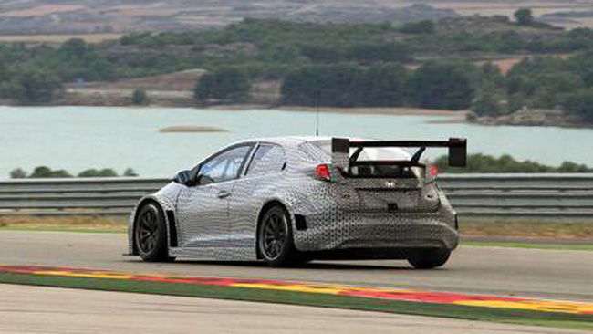 Altro test molto positivo per la Honda Civic TC1