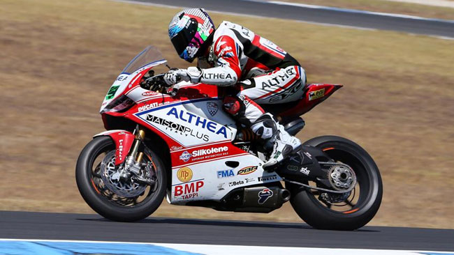 Il Team Althea punta alla top ten con la Ducati EVO