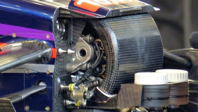 Red Bull: ecco il passaggio d'aria fra sotto e sopra!