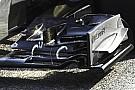 La McLaren sfoggia una nuova ala da carico