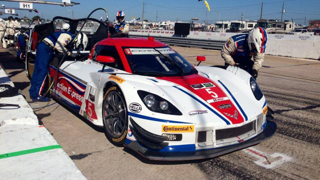 Action Express in pole alla 12 Ore di Sebring