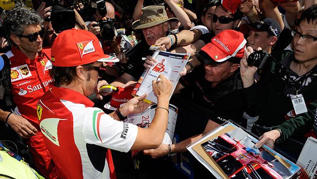 La Ferrari chiede ai tifosi un'opinione sulla nuova F.1