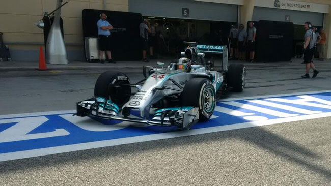 Bahrein, Day 2 (Ore 12:30): Mercedes ancora al top