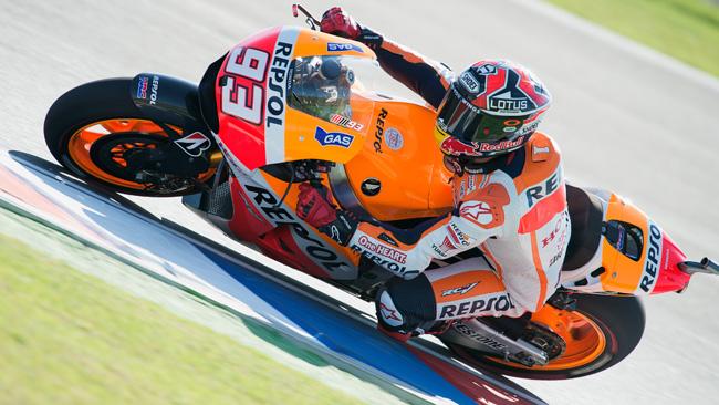 Argentina, Warm up: Marquez fa il vuoto con la Honda