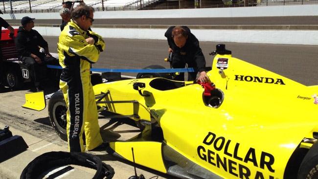 Primo test ad Indianapolis per Busch e Villeneuve