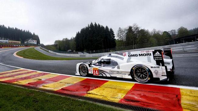 Prima pole della Porsche 919 Hybrid a Spa!