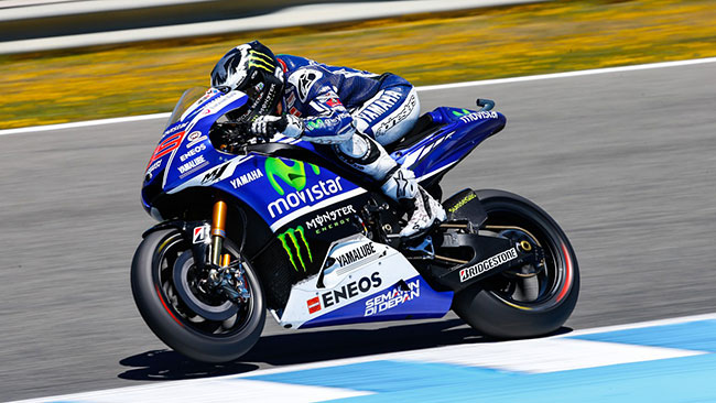 Jerez, Warm-Up: Lorenzo salta davanti a Marquez