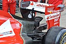Ferrari: cofano stretto, ala nuova e monkey seat