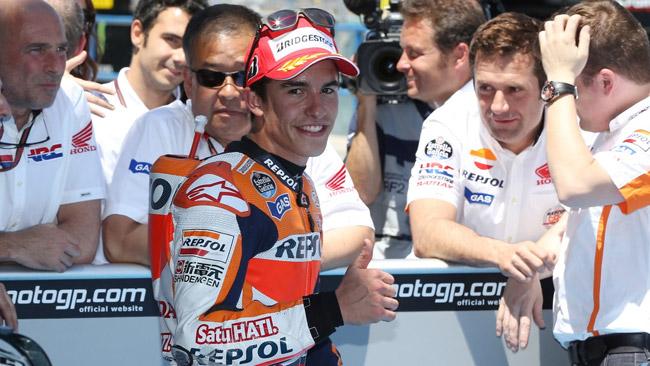 Ufficiale: Marquez rinnova con Honda fino al 2016
