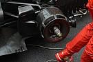 Ferrari: vista in griglia la nuova presa dei freni