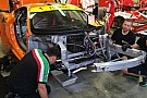 Sulla Ferrari della 8Star si è danneggiato il telaio