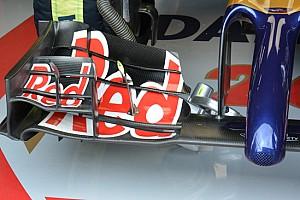 La Toro Rosso promuove l'ala anteriore nuova