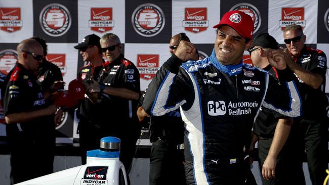 Montoya si prende la prima pole dopo il rientro