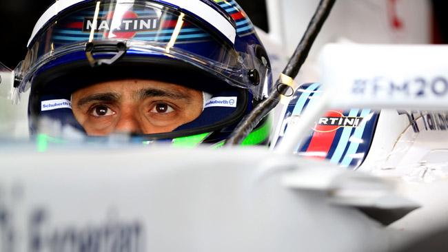 Silverstone, Day 1: Massa davanti a metà giornata