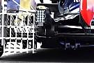 Red Bull: inedito diffusore con gli slot nelle paratie
