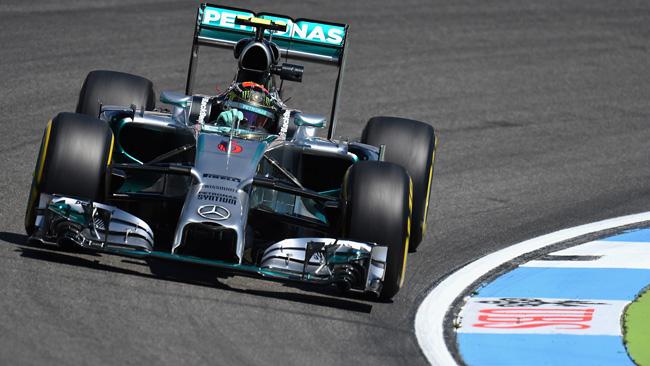 Rosberg conquista la quinta pole in Germania
