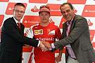 La Ferrari torna sulle strade di Rotterdam con Kimi