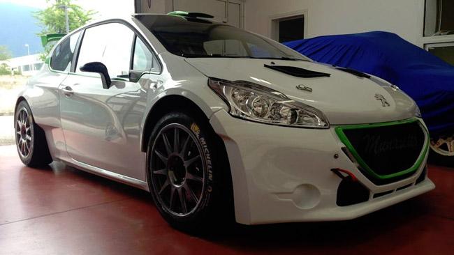 Power Car Team: pronta la prima Peugeot 208 T16