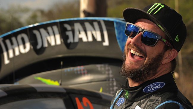 Ken Block al Motor Show per il Memorial Bettega