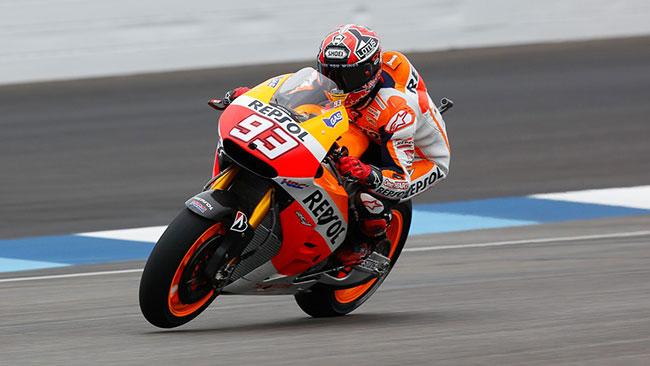 Indianapolis, Libere 2: Marquez davanti a Iannone