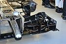 McLaren: prove di flessione dell'ala anteriore