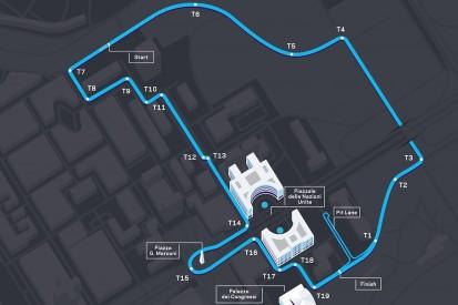 Neues Streckenlayout für das Formel-E-Rennen in Rom