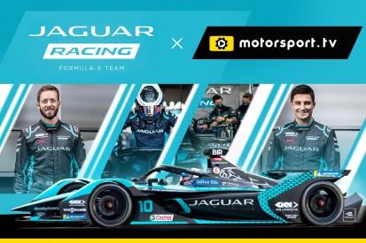 Jaguar startet offiziellen Kanal auf Motorsport.tv